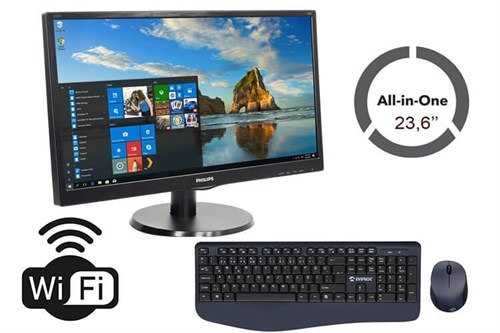 HP İntel İ5 4.Nesil 8 Ram 240 SSD Wifi Philips 23,6 All IN One Bilgisayar