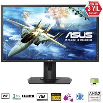Asus 24 VG245H LED MM Monitör Siyah 1ms