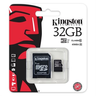 Kingston 32GB Micro SD Class 10 CL10 SDC10G2/32GB