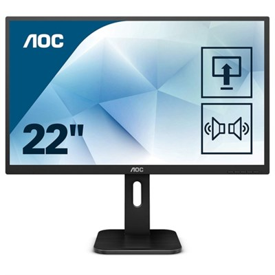AOC 21.5 22P1D LED MM Monitör 2ms Siyah