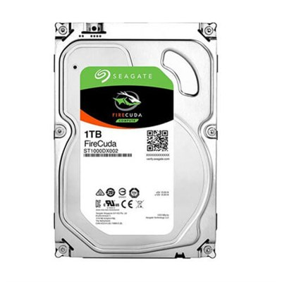 Seagate FIRECUDA 3.5 1TB+8GB SSD Gaming Disk ST1000DX001-Recertified