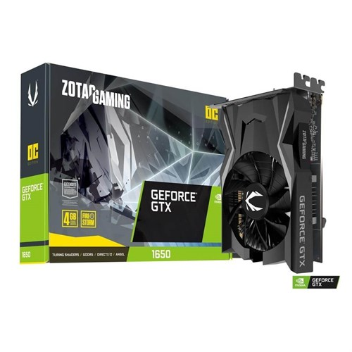 ZOTAC GAMİNG GEFORCE GTX 1650OC 4GB 128BİT GDDR5 EKRAN KARTI