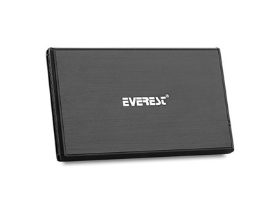 "Everest Hd3-257 2,5"" Usb 3.0 External Hdd Kutusu Black"
